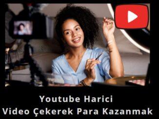 youtube harici para kazandıran işler