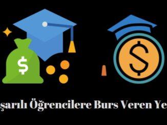 başarılı öğrencilere burs veren kurumlar