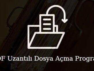 udf uzantılı dosya açma programı